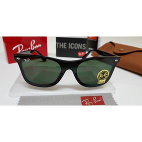 Óculos De Sol Ray-ban Blaze Wayfarer Nylon Rb4440 Verde G15 f827f12091