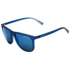 Armani Exchange Ax 4078 S - Óculos De Sol 8259 55 Azul Trans 6066ef5ce4