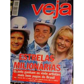 Revista Veja 1448/96 - Xuxa - Roberto - Gugu - Mamonas