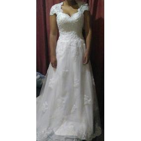 Vestido De Noiva - Alta Qualidade - Novo - 36 - 38