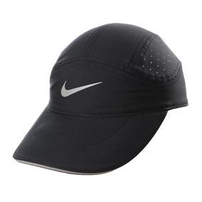 Gorra Nike Tailwind Negro Logo Gris U