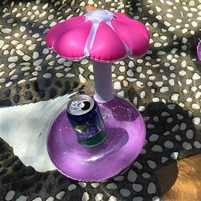 Porta Copo Inflável Diversos Flamingo, Abacaxi, Limão