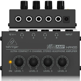 Amplificador De Fone De Ouvido Behringer Ha400