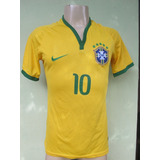 Camisa Brasil Nike Tamanho P - Grupo Dalfunz