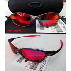 Óculos Oakley Juliet Polarizado Fire Novo Case 04 147 - Óculos no ... a4efe3aa24