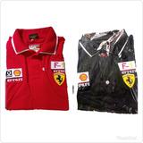 Kit Com 2 Camisas Camiseta Ferrari Na Promoçâo