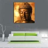 Cuadro Buda Gold 03- Lienzo Tela-canvas Calidad Museo