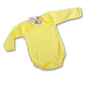 Pañalero Recien Nacido Amarillo Claro 0 Meses Algodon 100%