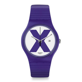 Reloj Swatch Xx-rated Purple Suov401