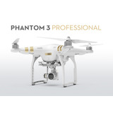 Dji Phantom 3 Professional 4k Video (bajo Pedido)