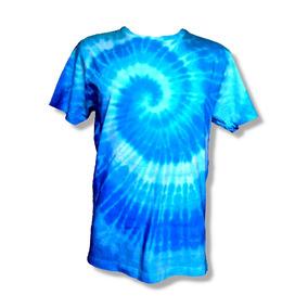 b1656153fb Espiral Camiseta Tie Dye Algodão Masculina Feminina