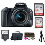 Cámara Canon Eos Rebel Sl2 Slr Con Lente 18-55mm Y Canon De
