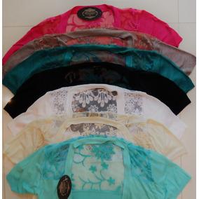 Lote Blusas Suéter 3 Unidades Varios Colores Tejido Y Encaje