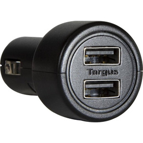 Carregador Veicular Com 2 Usb Targus Apd05 Preto