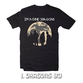 Playeras Imagine Dragons - 9 Modelos Disponibles