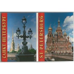 Rússia 2006 Cartela Com 16 Cartões Postais São Petersburg