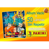 Dragon Ball Super Panini Album + 50 Laminas