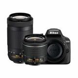 Cámara Nikon D3400 18-55mm Vr+ 70-300mm Ed