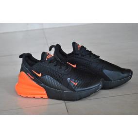 new style c4a42 4bf58 Kp3 Zapatos Niños Niñas Nike Air Max 270 Negro   Naranja