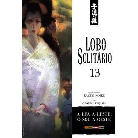 Mangá Lobo Solitário Nº 13 Ed. Fev/2019 - A Lua A Leste...