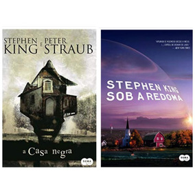 Livro A Casa Negra + Sob A Redoma - Stephen King - Lacrados