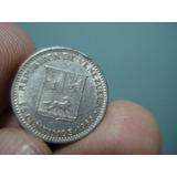 Moneda De Venezuela De 25 Centimos De 1965 ( De Niquel)