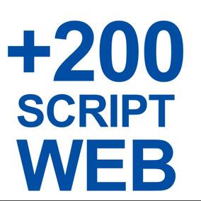 Script Web - Pacote 200 Script - Web, Jquery, Php