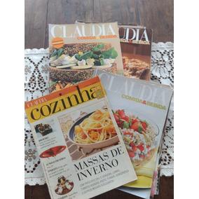 Lote De 20 Revistas Claudia Cozinha