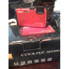 Camara Acuática Nikon Coolpix ..sumergible. ..anti Golpe