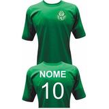 Camiseta Do Palmeiras Personalizada Com Seu Nome E Número