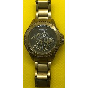 ea42a03725c Relogio Seculos Com Desenho De Cavalo Dentro - Relógios no Mercado ...