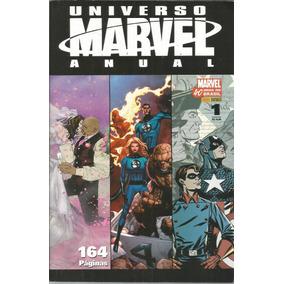 Lote Universo Marvel Anual 01 E 02 - Bonellihq Cx431 H18