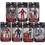 Deadpool Marvel Legends Serie Sasquash 7 Piezas Nuevas Sella