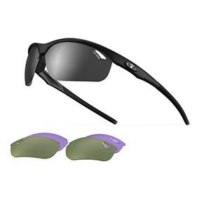 Tifosi Veloce 1040200115 Gafas De Sol Con Envoltura, Negro M