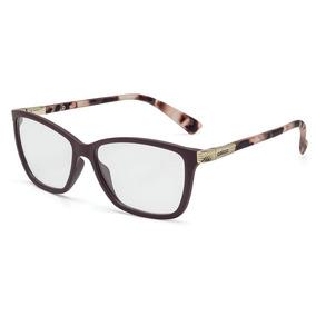 f1e3e34034225 Armação Oculos Grau Colcci C6035c2051 Bordô Degradê Brilho - Óculos ...