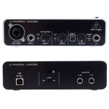 Placa Sonido Behringer Umc22 Interface Umc-22 Midas Nueva
