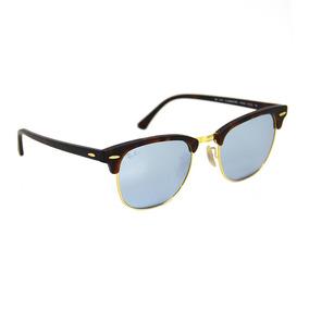 7d8facff3e66b Rayban Clubmaster Rb3016 Azul - Óculos no Mercado Livre Brasil