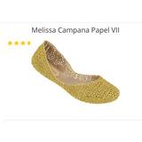 Melissa Campana, Tam 37, Novo, Cores Dourado Ou Rose