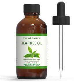 Aceite Esencial De Árbol De Té Tea Tree Oil 100 % Puro 118ml