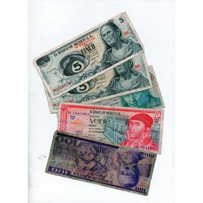 Billetes México Antigo L L L 1970s S11