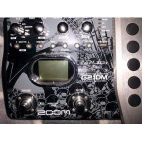 Multi Efecto Pedalera Zoom G2.1dm Dave Mustaine Signature