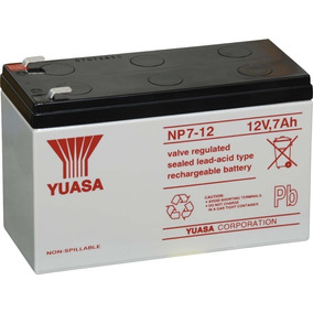 Bateria Yuasa Originales 2017 12v 7.2ah Alarma, Ups, Rosario