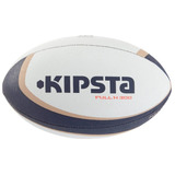 Balon De Rugby Full H 300 Talla 4 Blanco Marron