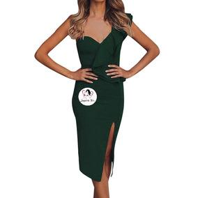 Vestido Moda Coreana Midi Corte Clásico Elegante Mod.r190