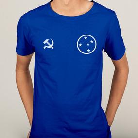 4d020f3c65 Camisa Zêro Comunista Cruzeiro Esporte Clube Futebol Retrô