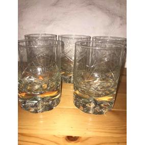 Vasos De Whisky Antiguos Pesados