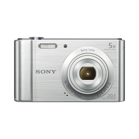 Cámara Digital Sony Cibernético -shot Dsc -w800 ( Plata )