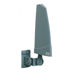 Antena Amplificada Externa 36db Tv Uhf Vhf Sv9350 One For Al
