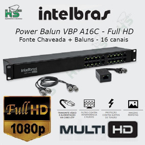 Power Balun Multi Vbp A16c Full Hd 1080p 16canais Intelbras
