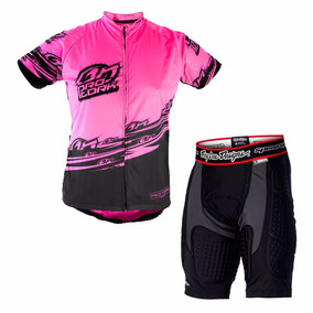 Conjunto Ciclismo Masculino Camisa + Bermuda Bike